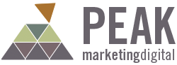 Peak Marketing Digital Mobile Logo